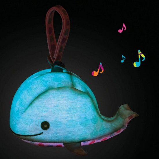 "B.Toys Φωτιζόμενο λούτρινο με 4 ήχους της  ""Φάλαινα"""