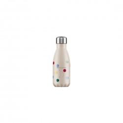 Chilly's ανοξείδωτο μπουκάλι Θερμός 260ml,  Polka, Emma Bridgewater