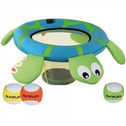 Sunflex Μπασκέτα - Χελωνίτσα παιχνίδι στόχευσης με μπαλάκια