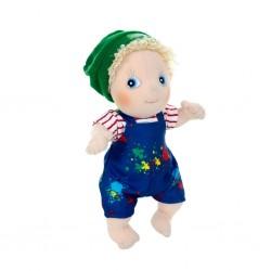 """Κούκλα  χειροποίητη της Rubens Barn Activity """"Adam"""""""