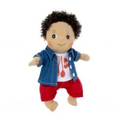 """Κούκλα  χειροποίητη της Rubens Barn Activity """"Charlie"""""""