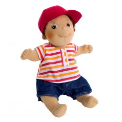 """Κούκλα  χειροποίητη της Rubens Barn """"Tim"""""""