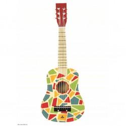 "Svoora ξύλινη παιδική κιθάρα ""Circus"""