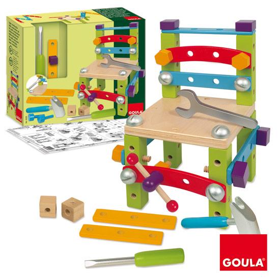 Goula Ξύλινες Κατασκευές με βίδες και εργαλεία