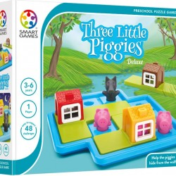 "Smart Games επιτραπέζιο παιχνίδι ""Τα τρία γουρουνάκια"" (48 προκλήσεις)"