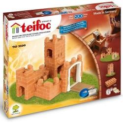 """Teifoc χτίζοντας με πραγματικά τουβλάκια """"Μικρό Κάστρο"""" σε 3 σχέδια"""