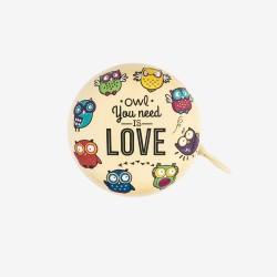 """Κουδούνι ποδηλάτου της Legami """"Owl you need is love"""""""