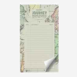 """Μπλοκ σημειώσεων της Legami """"Every journey begins with the first step"""""""