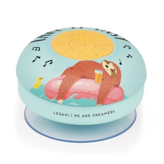 Legami Ασύρματο αδιάβροχο ηχείο Singing in the shower- Sloth