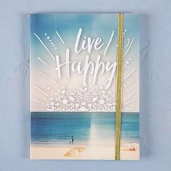 """Σημειωματάριο της Natural Life """"Live happy"""""""
