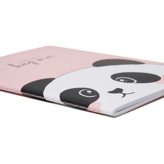 """Τετράδιο σημειωματάριο  της Legami """"Panda"""" A5"""