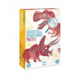 """Londji Παζλ """"Ανακαλύψτε τους Δεινόσαυρους"""" 200 τμχ"""