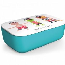 """Παιδικό Lunch box """"Pirates""""  φαγητοδοχείο από οργανικό bamboo TUV certified"""