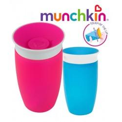 Munchkin Ποτηράκι εκπαιδευτικό Sippy Cup Pink Miracle 360˚