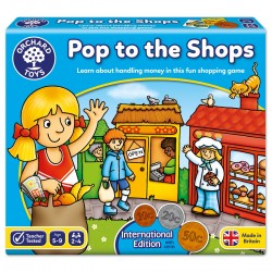 "Orchard Toys επιτραπέζιο εκπαιδευτικό παιχνίδι  ""Pop to the Shops"""