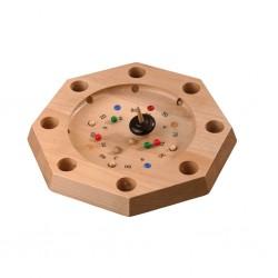 Ξύλινο παιχνίδι «Τρελό Μαθηματικό σβούρισμα» Octagon Large, FSC certified