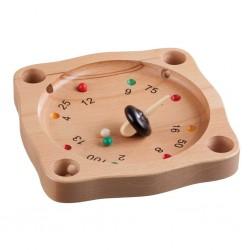 Ξύλινο παιχνίδι «Τρελό Μαθηματικό σβούρισμα» Medium, FSC certified