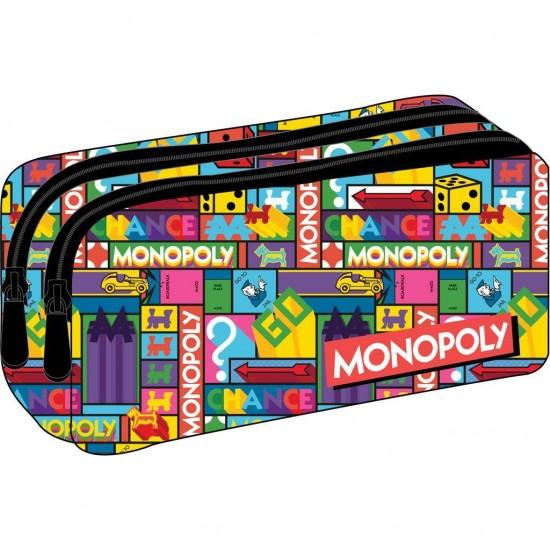 Κασετίνα οβάλ διπλή Monopoly