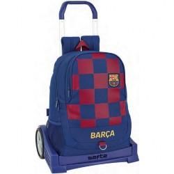 """Τσάντα με τρόλευ της Safta Evolution """"Barcelona"""" 32x16x44 εκ."""