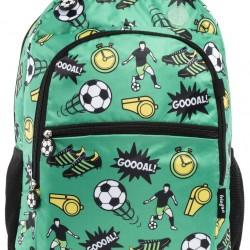 """Τσάντα πλάτης δημοτικού Fringoo """"Football"""" 30X15X42 εκ."""