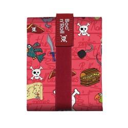 Boc n Roll Pirates - Κόκκινο (kids size) μεταφορά τροφίμων με στυλ Ecolife