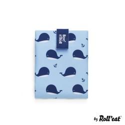 Boc n Roll Sandwich Wrap Whale (kids size) μεταφορά τροφίμων με στυλ Ecolife