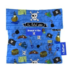 Snack n Go Pirates -Γαλάζιο - μεταφορά τροφίμων με στυλ - Ecolife