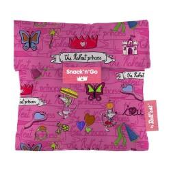 Snack n Go Princess - Ροζ - μεταφορά τροφίμων με στυλ - Ecolife
