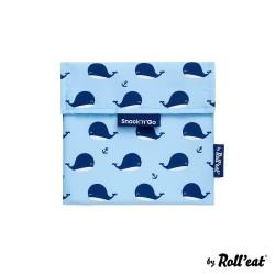 Snack n Go Whale - μεταφορά τροφίμων με στυλ - Ecolife