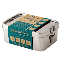 ECOlunchbox Bento Wet Box Μεγάλο Ορθογώνιο
