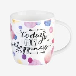 """Κούπα πορσελάνινη της Legami """"Today I choose Happiness"""""""