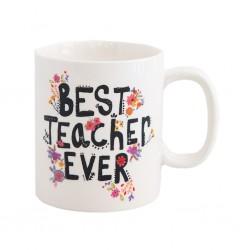 """Κούπα της Natural Life """"Best teacher ever"""""""