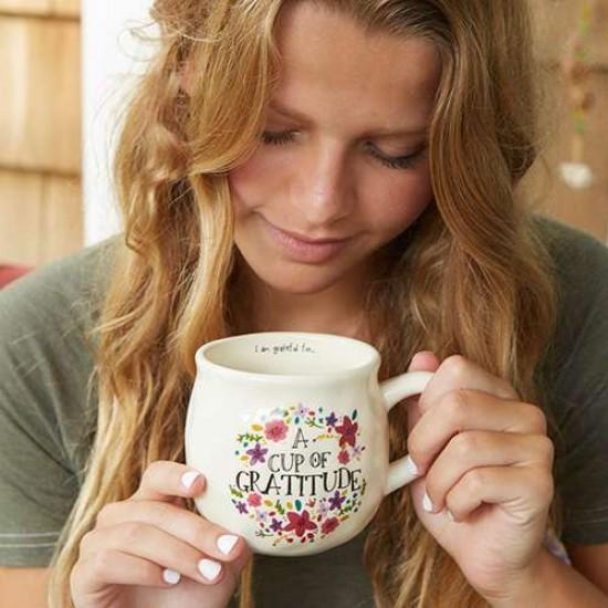 """Κούπα της Natural Life """"Cup of gratitude"""""""