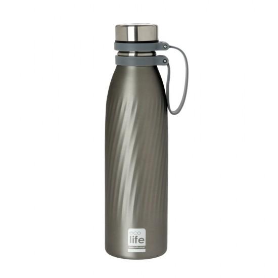 Μπουκάλι  θερμός Ecolife Cool Grey 500ml