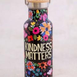 """Μπουκάλι θερμός της Natural Life  """"Kindness Matters"""" 500ml"""