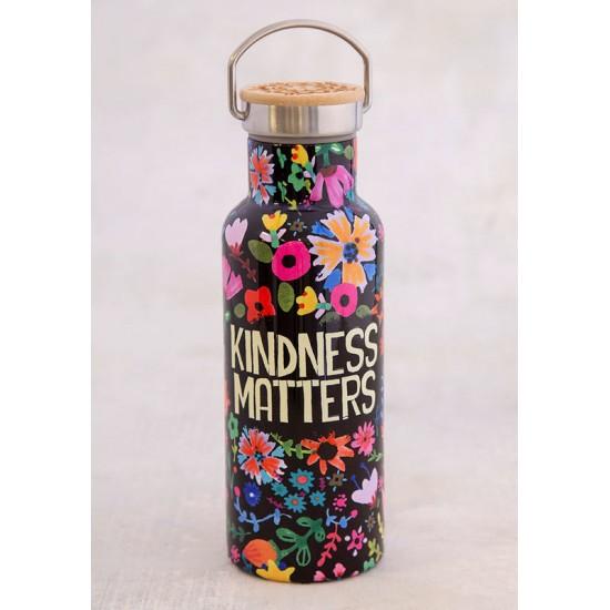 """Μπουκάλι θερμός της Natural Life  """"Kindness Matters"""""""
