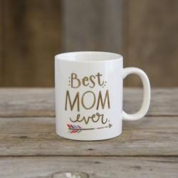 """Κούπα κεραμική της Natural Life """"Best mom ever"""""""