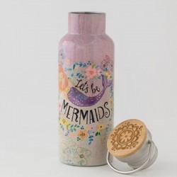 """Μπουκάλι θερμός της Natural Life """"Let's be mermaids"""""""