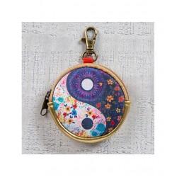 """Θήκη για ακουστικά - πορτοφολάκι της Natural Life """"Ying Yang"""""""