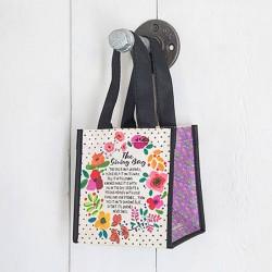 """Τσάντα δώρου μικρή της Natural Life """"The giving bag"""""""