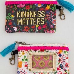 """Τσαντάκι πορτοφολάκι της Natural Life """"Kindness matters"""""""