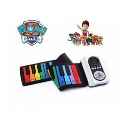 Αναδιπλoύμενο και ευλίγιστο, χρωματιστό παιδικό πιάνο PAW PATROL nickelodeon